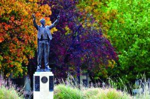 Cheltenham bid proud to show Holst Statue