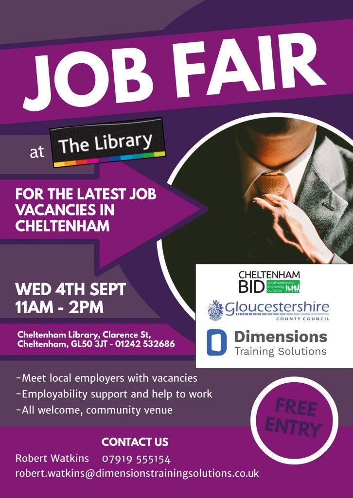A Job Fair For All This September Cheltenham Bid